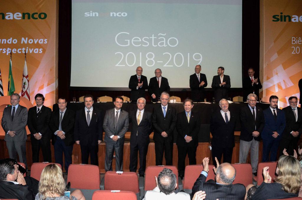 Gestão 2018-2019 Sinaenco Nacional e Regionais