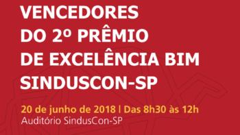 Link permanente para: Vencedores do 2º prêmio de excelência BIM SINDUSCON-SP