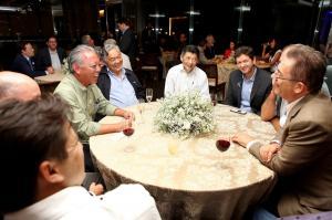 Chaguri,Milton,Koiti,Morio,Wang,Sergio,Luiz Carlos Sindinstalação